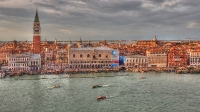 Hafenausfahrt Venedig