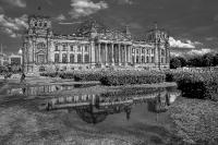 Reichstag nach Regen
