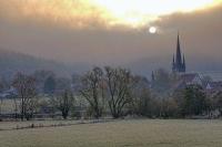 Neukirchen im Nebel