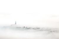 Probstei Zella im Nebel